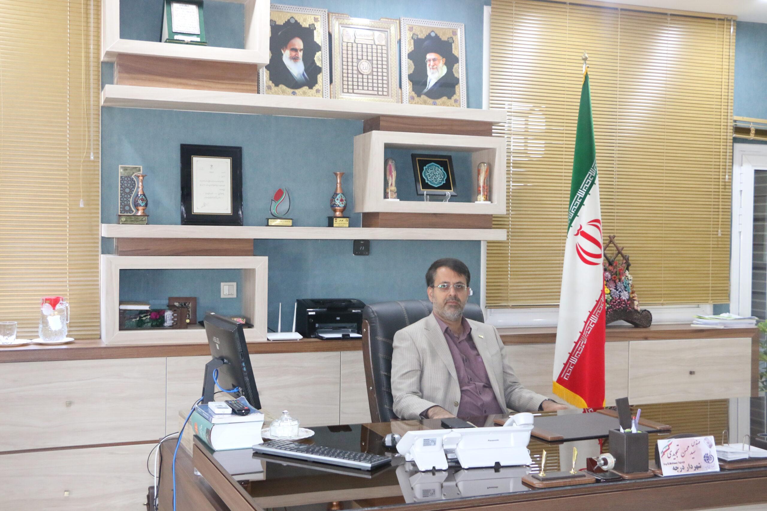 سید محسن تجویدی شهردار
